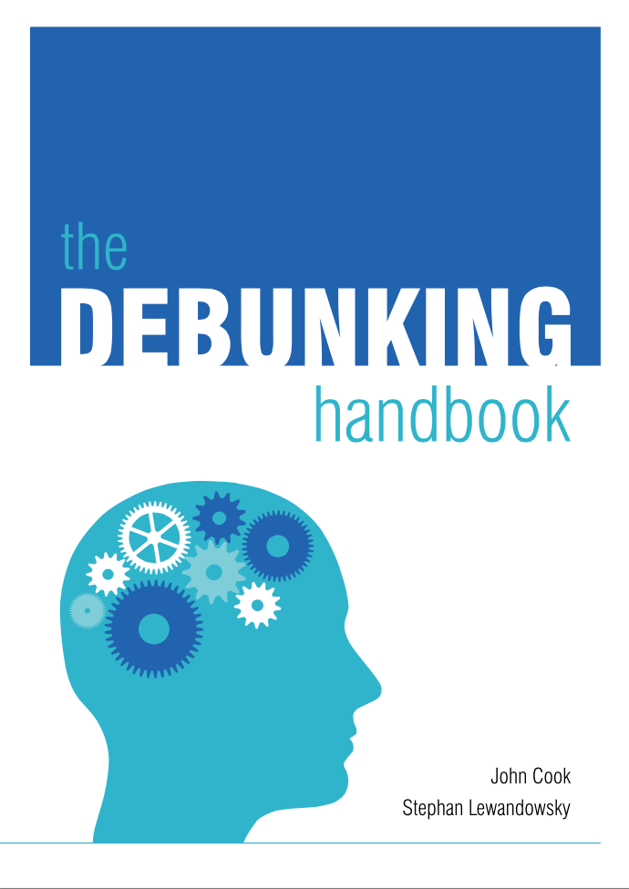 Cover of the Debunking Handbook