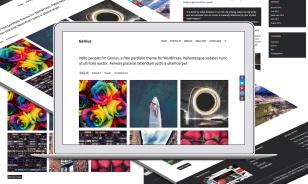 Genius WordPress Theme Screenshot